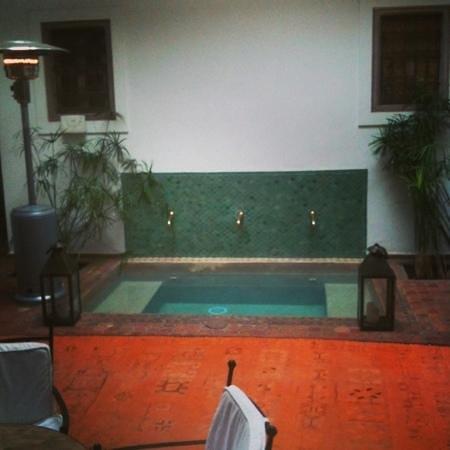 Riad Altair:                   Courtyard