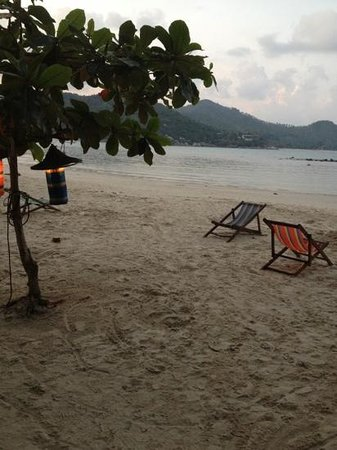 Longtail Beach Resort: dusk