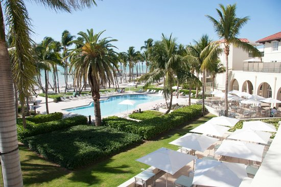 Casa Marina, A Waldorf Astoria Resort:                                     Pool view from room balcony