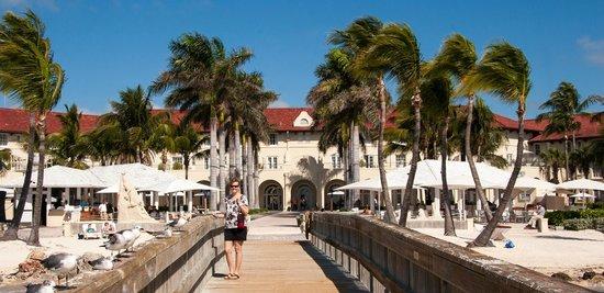 Casa Marina, A Waldorf Astoria Resort:                                     Hotel view from the dock