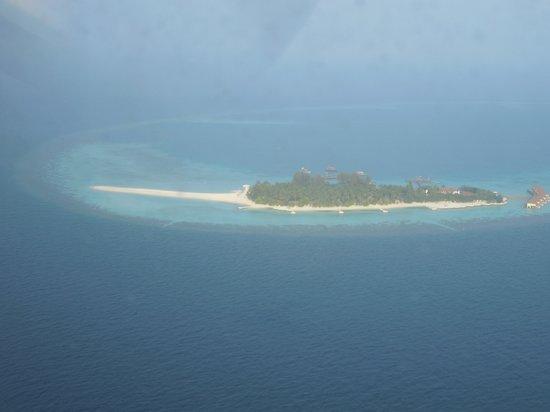 VOI Maayafushi Resort:                   dall'idrovolante