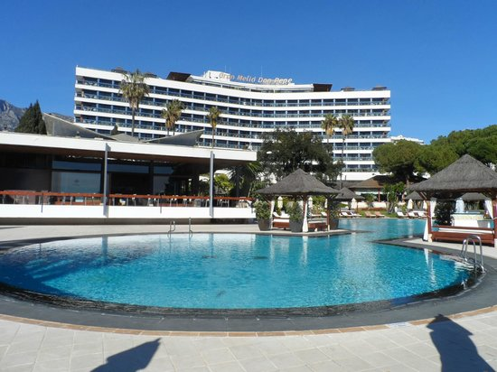 Gran Melia Don Pepe:                   Hotel and pool
