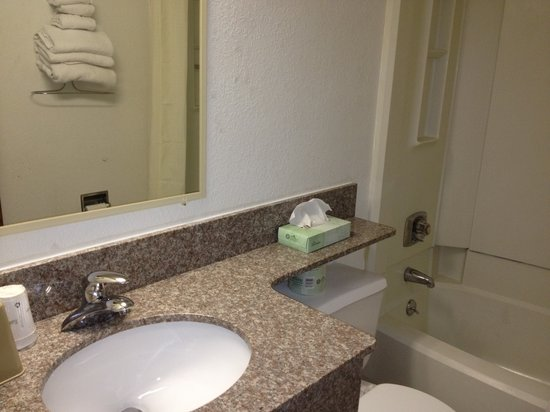 Travelodge Muskegon: Bathroom