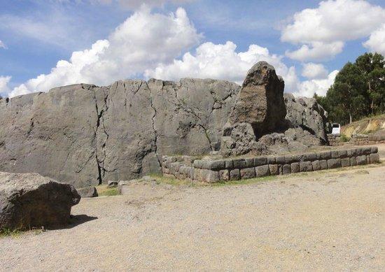 Pumamarca Ruins : Le complexe à Ollantaytambo