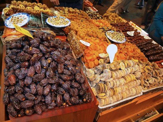 Egyptian Bazaar: Dry fruits
