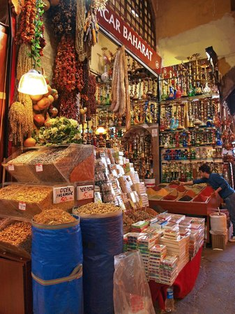 Egyptian Bazaar: All kinds of goods