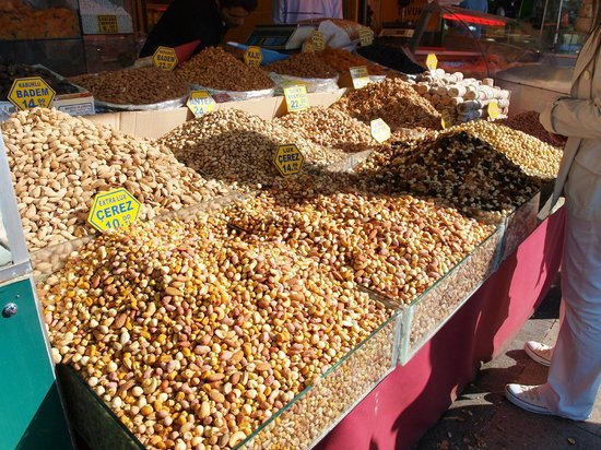 Egyptian Bazaar: Nuts