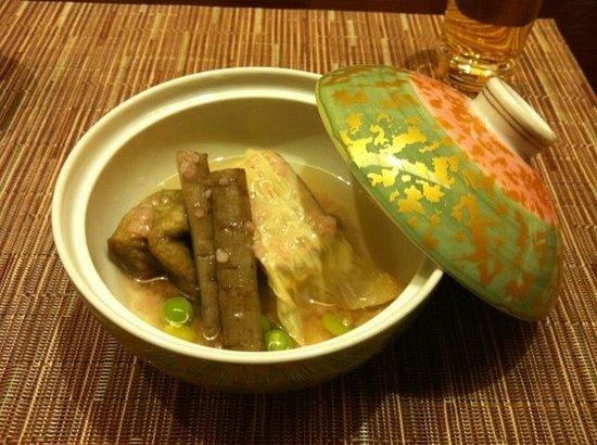 Taketoritei Maruyama:                   Dinner again