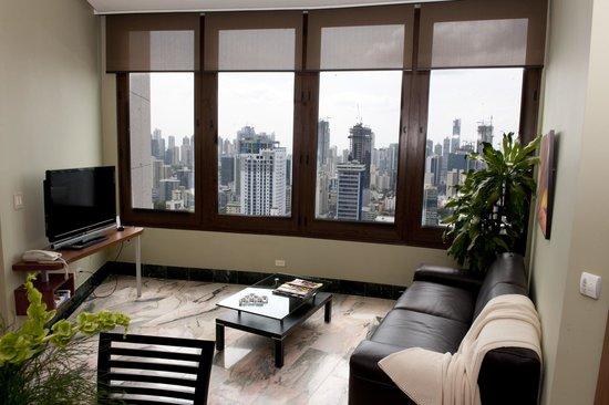 Aparthotel Torres de Alba: Vista desde una habitación superior