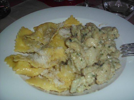 Lozio, İtalya:                                     primi piatti tipici