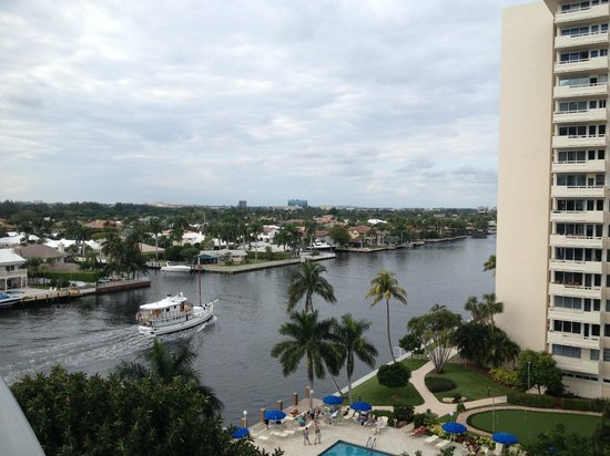 Residence Inn Fort Lauderdale Intracoastal/Il Lugano:                   View from Balcony
