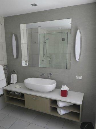 The Rees Hotel & Luxury Apartments: Bathroom vanity