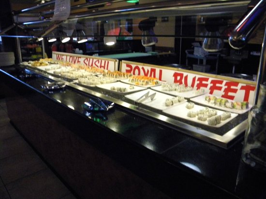 Royal Buffet: Sushi Bar