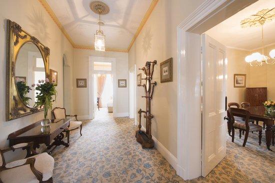 The Hotel Windsor: Victorian Suite Hallway
