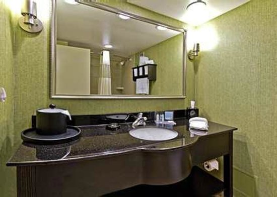 Hampton Inn Asheville - Tunnel Road:                   Bath at Hampton Inn