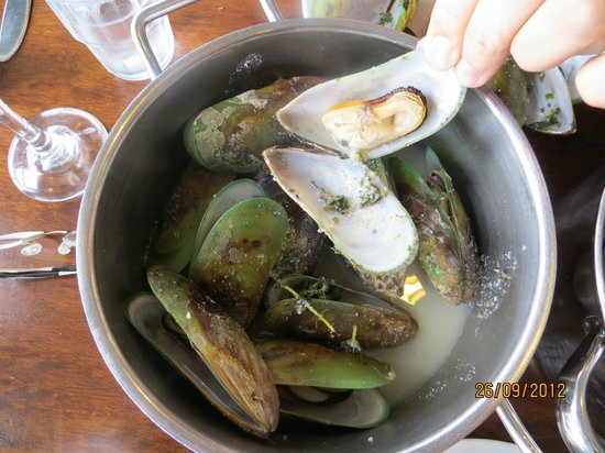 The Mussel Pot: the mussels