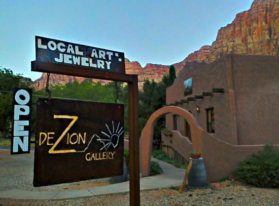 DeZion Gallery and Sign