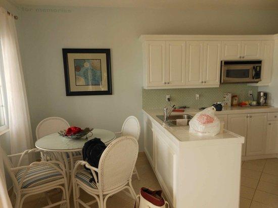 Beach House Turks & Caicos:                   Kitchen area