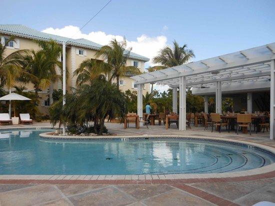 Beach House Turks & Caicos:                   pool view