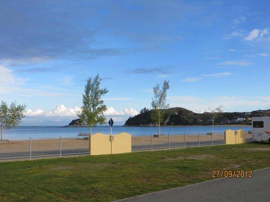 Kaiteriteri Beach: vista desde el camping