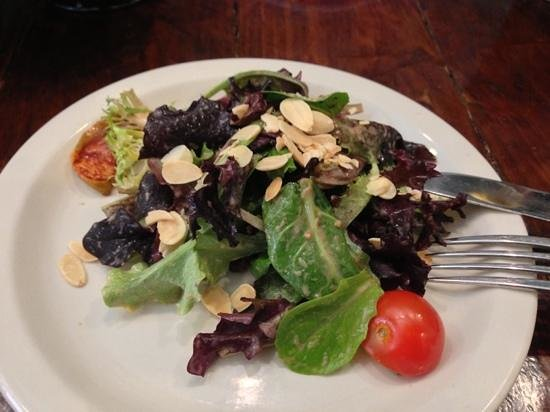 Andalucia Tapas:                   House Salad - Lunch Special