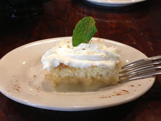 Andalucia Tapas:                   The most delicious tres leches cake I've ever had.