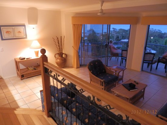 Sea Star Apartments:                   Living room