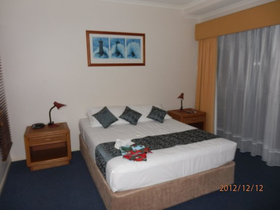 Sea Star Apartments:                   Master bedroom- queen size bed