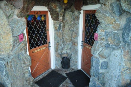 Madonna Inn:                   Door