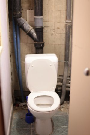 Hotel Mirabeau :                   We had ordered a room with the toilet in the room, this room had a dirty one i