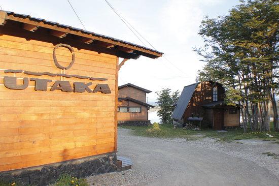 Utaka Cabañas y Aparts: Entrada a Utaka