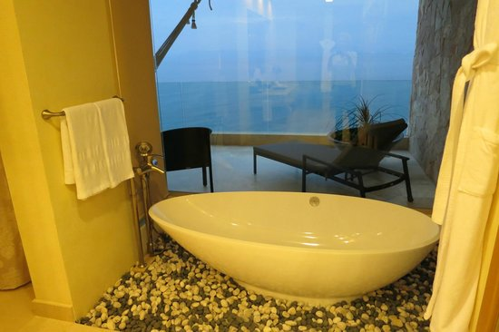 Garza Blanca Preserve, Resort & Spa:                   View from the tub- tower 4