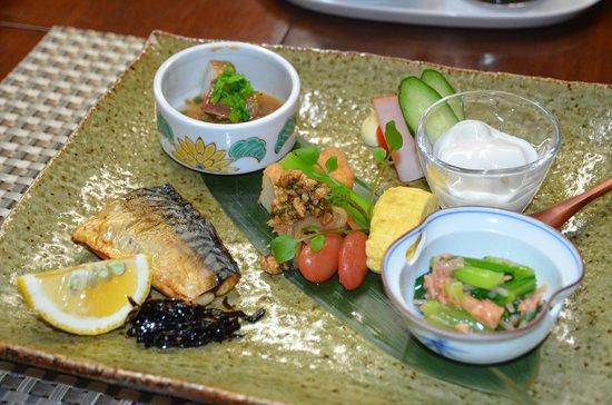 Ebisuya Ryokan :                   朝食