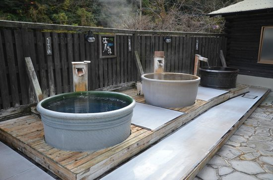 Ebisuya Ryokan :                   大浴場