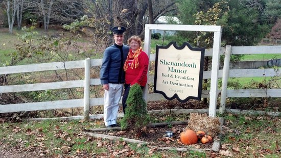 Shenandoah Manor Bed and Breakfast:                                     fall 2012