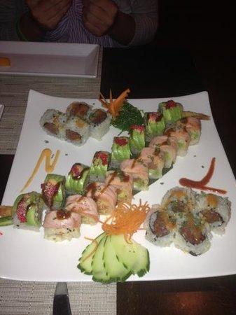 Nishi Restaurant:                   delicious spicy tuna maki, salmon maki and the cartapilla was the very best- p