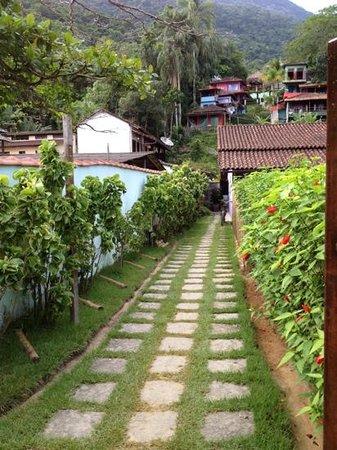 Che Lagarto Suítes Ilha Grande:                   entrada principal
