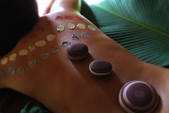 Li'Tya Spa Dreaming:                                     Guberra kodo rocks therapy