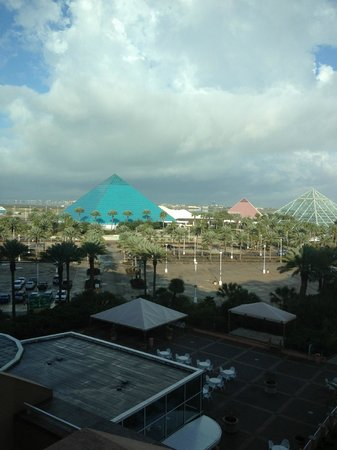 Moody Gardens Hotel Spa & Convention Center:                                     View from our room