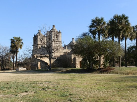 Historic Texas Foodie Tour:                                     Missions San Juan, first of the four