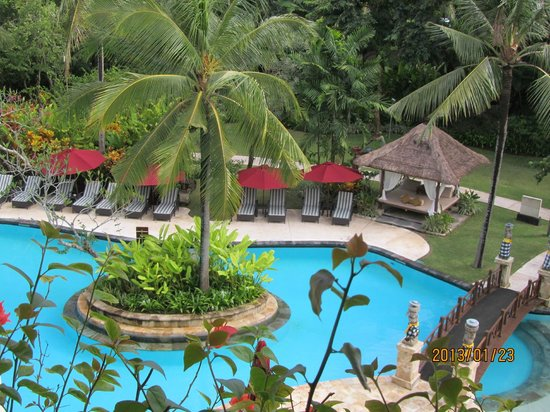 The Laguna, a Luxury Collection Resort & Spa:                   view from the balcony