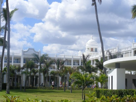 Hotel Riu Palace Bavaro:                   View from the Pool