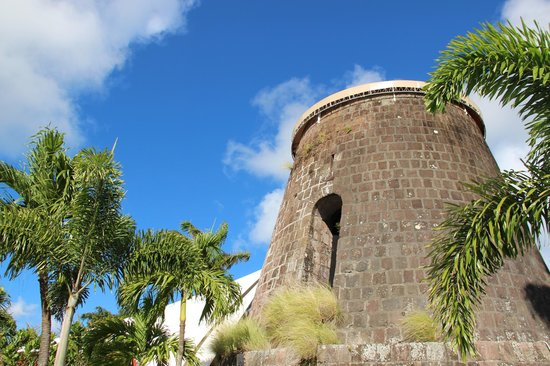Montpelier Plantation & Beach:                   Sugar mill