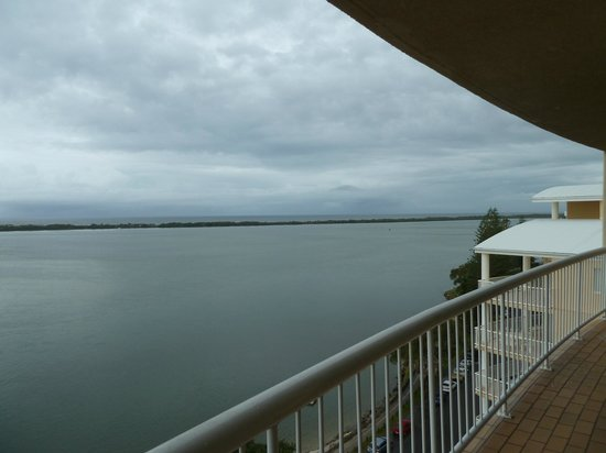 Gemini Resort:                   view of water