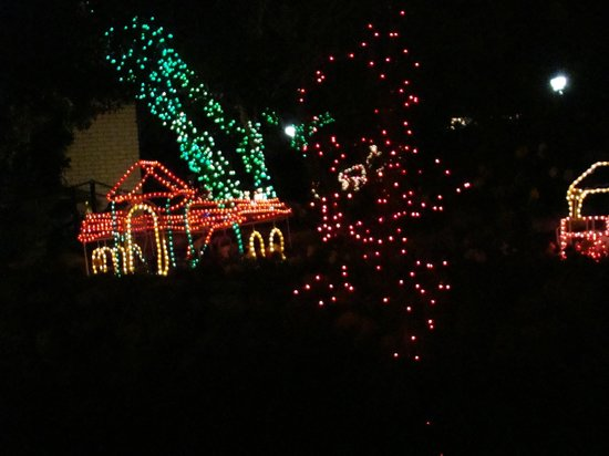 Guido Gardens:                                     Light display