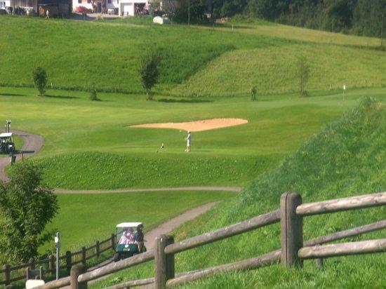 Sonnenalp Resort:                   Einer der beiden tollen Golfplätze des Hotels