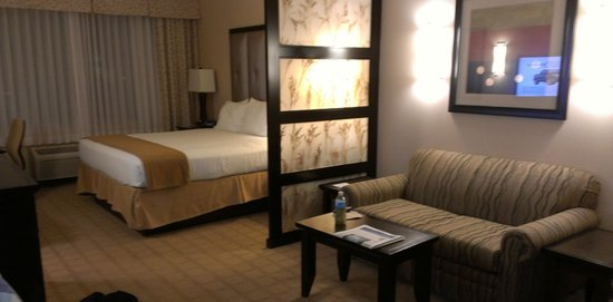 Holiday Inn Express Hotel & Suites Denver Northeast - Brighton:                   Sitting area/bedroom
