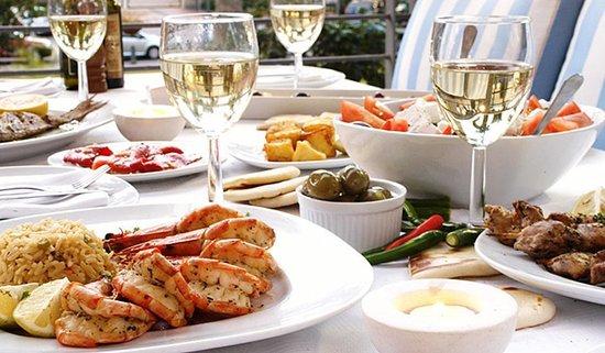 Plaka Restaurant Cresta : Plaka Food