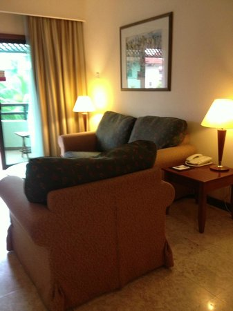 Holiday Inn Resort Batam:                   The big cushion sofas. Very comfy.