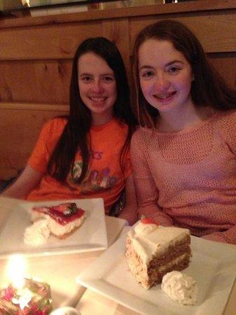 Alpenrose Restaurant:                   cheese cake